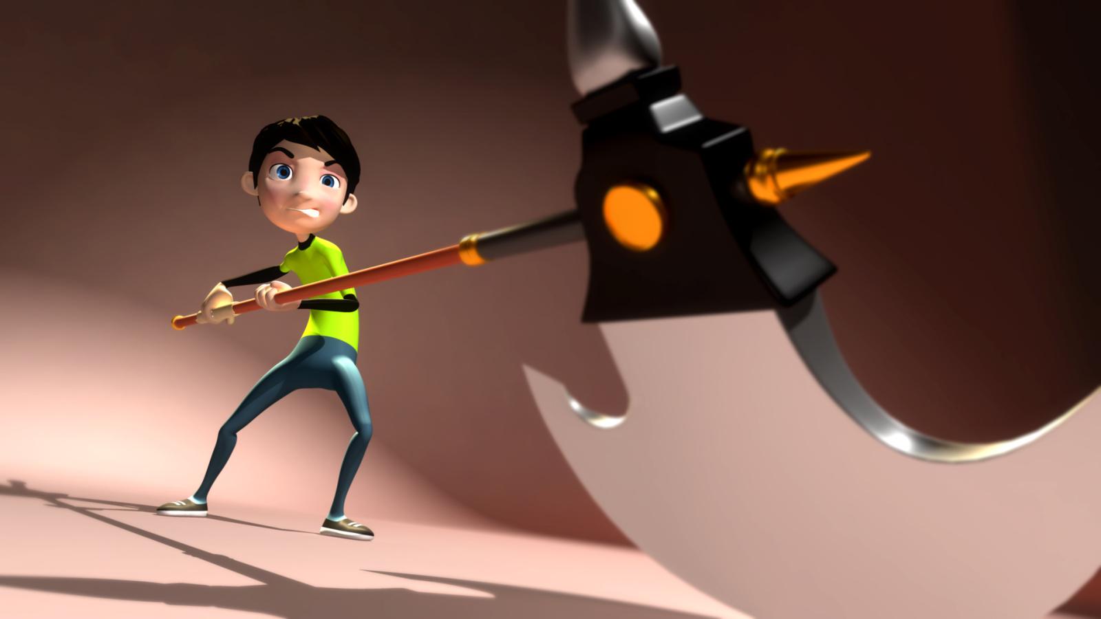 第三阶段:三维动画项目实战