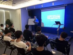 南京智游为学生举办职业发展宣讲会